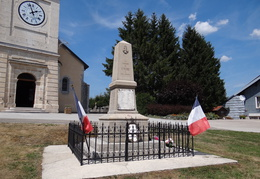 Monument aux morts de Saint-Pierre (39)