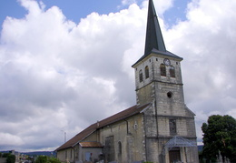 Eglise Saint-Romain à Viry (39)